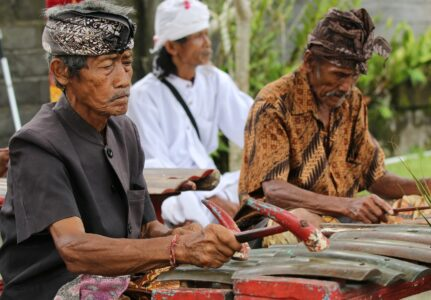 Traditional Music from Bali, Indonesia