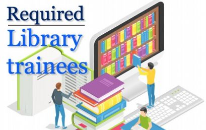 Call for applications for Library Trainees