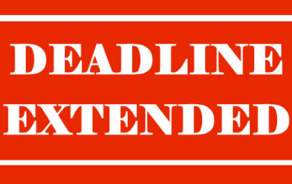 Call for Applications: Deadline Extended!