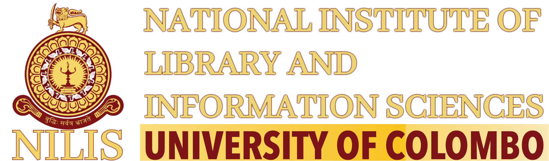 All Courses Offered by NILIS | NILIS, University of Colombo, Sri Lanka