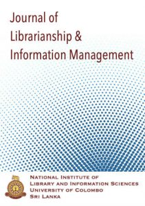 Journal of Librarianship and Information Management Cover